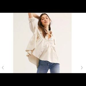Free People NWT Dylan top